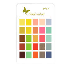 Die Spring Color Chart Spring Wardrobe Color Chart