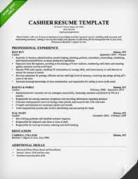 Cashier Resume Skills Section Example X Photography Resume Skill