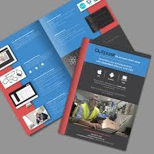 Make Flyer App Elegant Playful Brochure Design For A Company By Ashtree