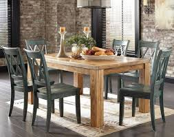 interior rustic round dining room tables brown wood table sets contemporary grey microfiber padded cushion small
