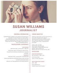 Customize 320+ Photo Resume Templates Online - Canva