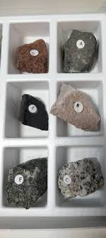 Identifying Rocks And Minerals Chart Solved Geology Earth Science Igneous Rocks Identificat