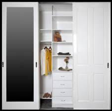 wardrobe doors bunnings multi 2010 x 610mm white melamine for size 936 x 923