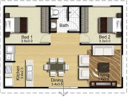 Floor Plan 2 Bedroom Apartment Remodelling