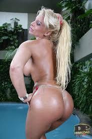 Pamela Butt busty blonde gets DPed in the pool 21Sextury 16.