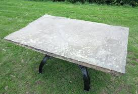 stone table top antique stone garden table top on cast iron base with remodel 9 stone