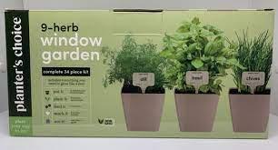 9 herb window garden indoor organic