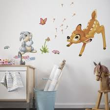 disney bambi thumper giant stickers h awesome disney wall stickers for kids bedrooms