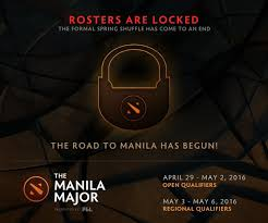 final rosters for the manila major 2016 of dota 2 ziddle