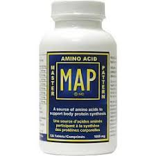 Master Amino Acid Pattern Magnificent MAP Master Amino Acid Pattern 48 Tablets In Canada Only 4848