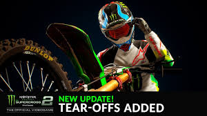 Tare Offs New Update Tear Offs Added Supercross The Game 2