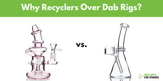 dab rigs vs recycler bongs