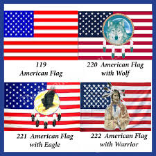 native american style flags