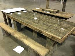 round wood picnic table large size of furniture desk plans old barn wood picnic table tables