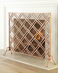 view in gallery layla fireplace screen