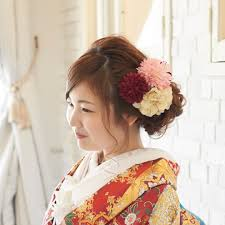 ボンフルールのとってもかわいいウェディングヘアカタログ 結婚式