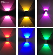 cool indoor lighting. 2018 3w Square Wall Light Led Lamp Modern Home Lighting Within Decorating Cool Indoor T
