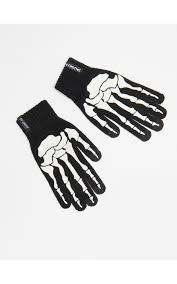 <b>Перчатки</b> со светящейся аппликацией, CROPP, WA015-99X