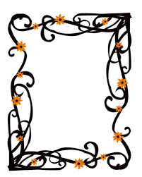 Elegant Floral Frame Border Clipart Panda Free Clipart Images