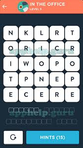 Wordbrain Themes Word Superstar In The Office Level 5