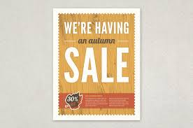 Free For Sale Flyer Template Autumn Sale Flyer Template Inkd