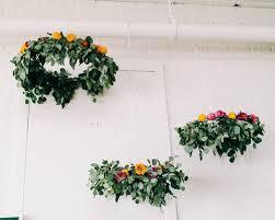 9 diy fresh flowers and greenery chandeliers