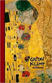 gustav klimt notebook gifts for art small ruled notebooks writing journals with prints of the kiss signature series klimt paintings smart