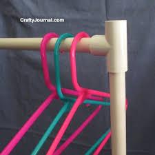 Pvc Pipe Coat Rack PVC Pipe Rack 48