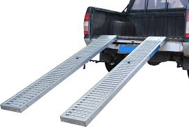 2 pc 1 000 lb 84 x 10 in anti skid steel ramps
