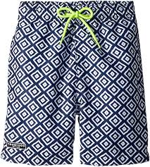 Toobydoo Size Chart Amazon Com Toobydoo Baby Boys Blue White Patterned Swim