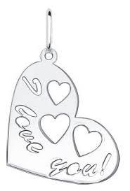 SOKOLOV <b>Подвеска</b> «I <b>love you</b>» из серебра 94030015 — купить ...