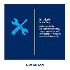 Chamberlain Technical Support Chamberlain 1 25 Hp Whisper Drive Belt Drive Garage Door
