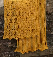 Thistle Knitting Chart Thistle Stole By Emily Wessel