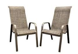 aluminum sling high back chair