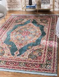 a2z rug turquoise 5 5 x 8 feet st tropez collection