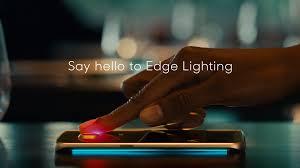 Samsung Music Edge Lighting S7 Edge Edge Lighting On The Galaxy S6 Edge Stars In New Ad