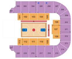 Bancorpsouth Arena Seating Chart Tupelo