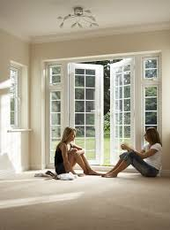 white exterior french doors. Two-gilrs-in-exterior-french-door-models White Exterior French Doors O