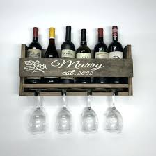 handmade wooden wine racks personalized rack glass image 0 bottle holder