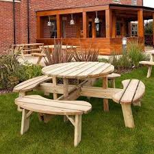 picnic table stain ideas wooden