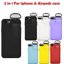 Ốp Lưng 2 Trong 1 Cho Iphone 7 Plus Tai Nghe Không Dây Tai Nghe Bộ Bảo Vệ  Cho IPhone 7 Plus/8 Plus và Cho AirPods Iphone Ốp Lưng Phone Case & Covers