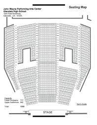 Cerritos Center Seating Chart John Wayne Performing Arts Center Seating Chart