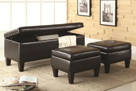 Storage Benches For Living Room Ottomans Furniture Max
