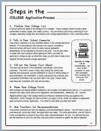 the college admission process the middle school counselor the college admission process