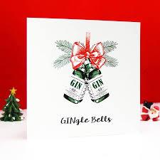 Photo Christmas Card Gingle Bells Gin Christmas Card By Of Life Lemons