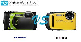 Olympus Tough Comparison Chart The Side By Side Comparison Of The Olympus Stylus Tough Tg
