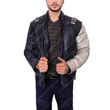 the winter solr bucky barnes silver arm jacket