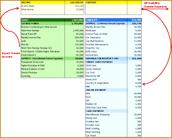 How To Create Balance Sheet Template For Balance Sheet And Income Statement Free