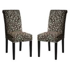 avington parsons dining chairs in chocolate vine