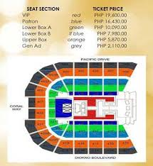 Taylor Swift Chicago Seating Chart Taylor Swift Live In Manila 2014 Philippine Concerts